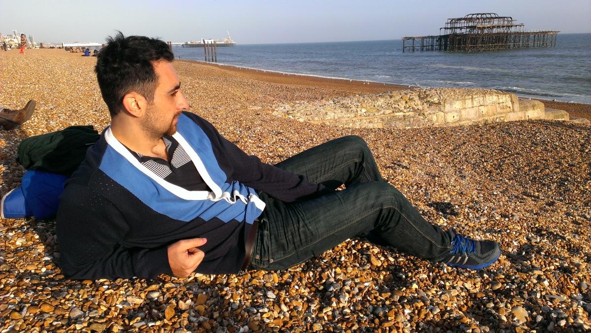 Brighton's beach