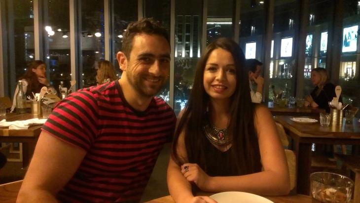 Fadi Zaghmout and Tima Al Shomali