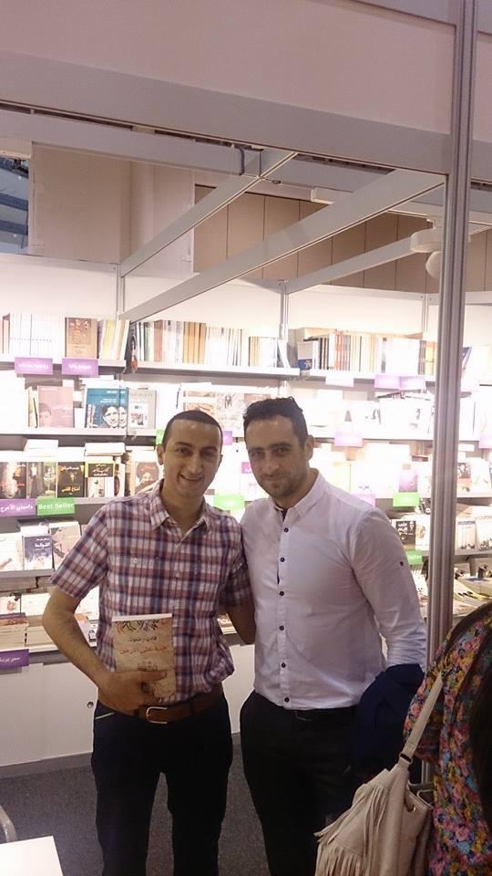 مع الصديق طارق زريقات
