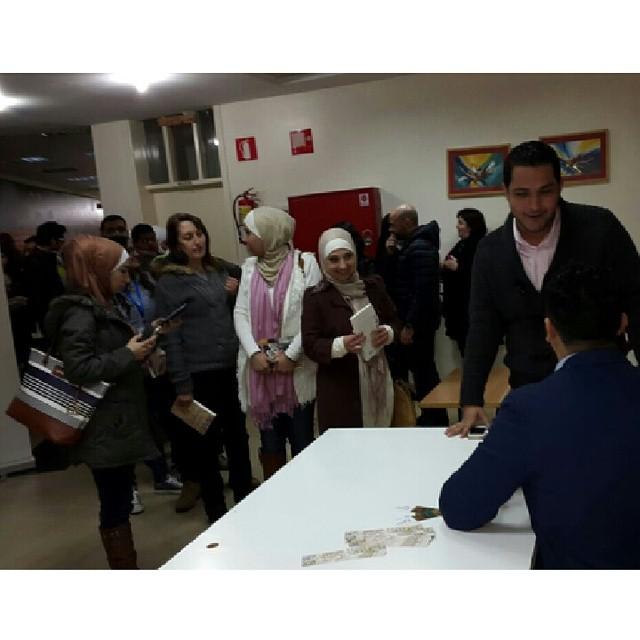 حفل التوقيع