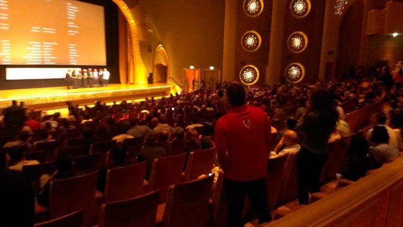 Theeb audience - Abu Dhabi Film Festival