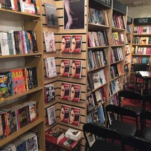 The Bride of Amman on display during the launch event at Gay's the word bookshop in London